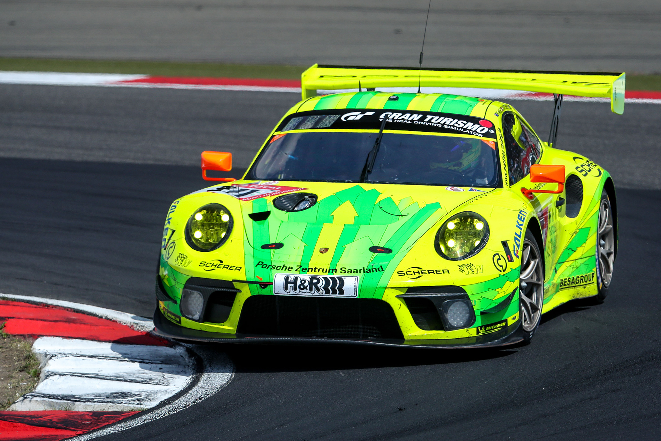 Porsche #911 subsequently disqualified