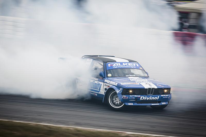 Bildergallerie - 24h-Rennen 2014 - Falken Drift Show
