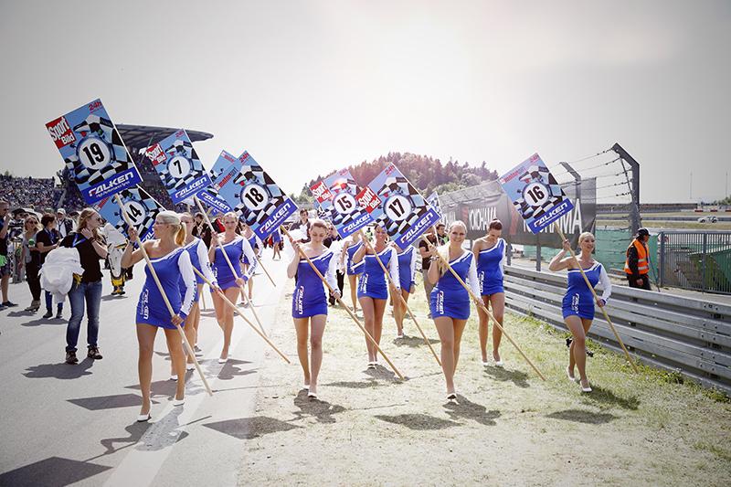 Bildergallerie - 24h-Rennen 2014 - Startaufstellung
