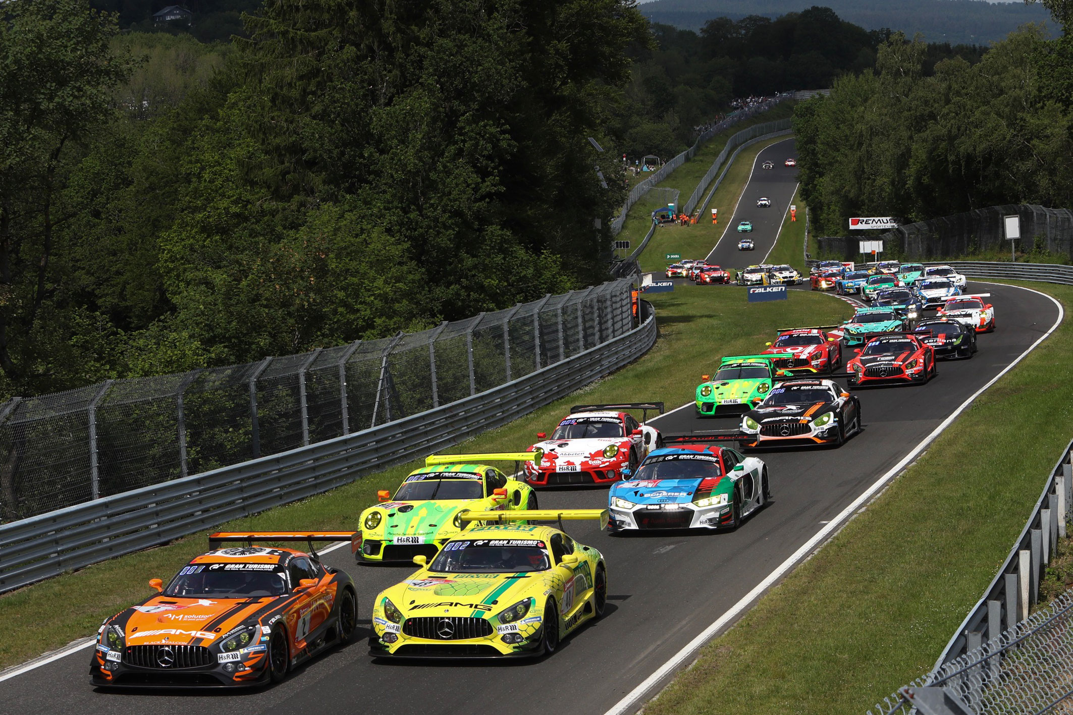 Green lights for the 24h Race