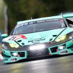 Konrad Lamborghini setzt erste Bestzeit des Tages