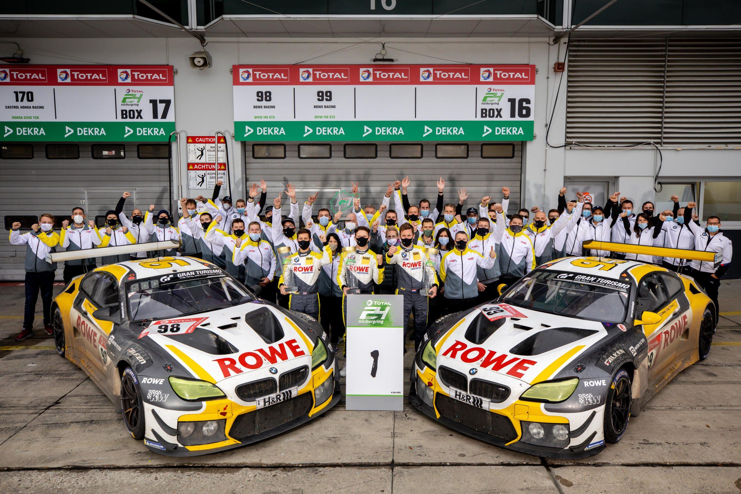 Rowe Racing rockt den Ring: Erster Triumph beim 24h‑Rennen