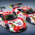 Frikadelli Racing mit zwei 911ern in der Pro-Kategorie