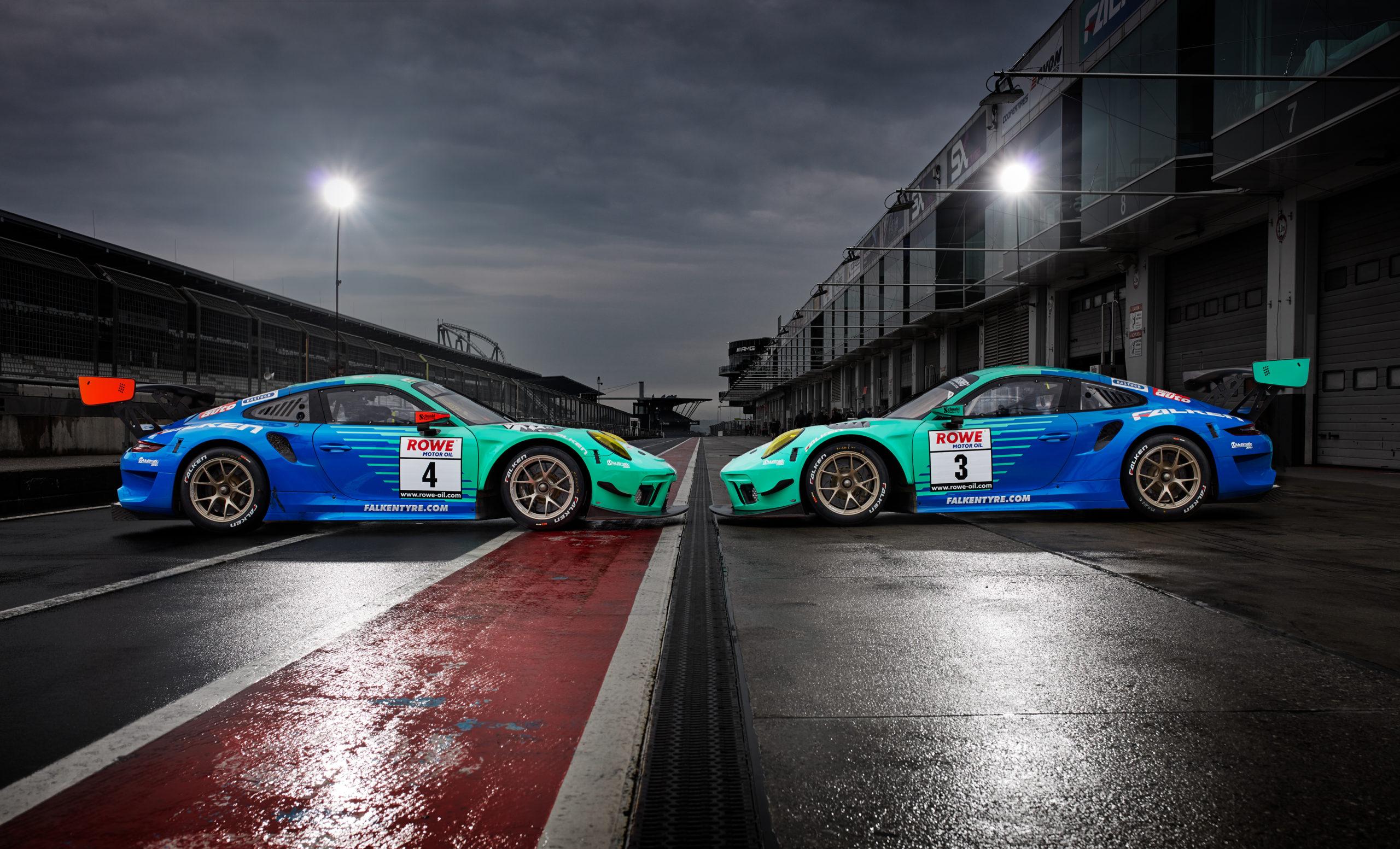 Falken bestätigt Fahrer für das erste NLS-Rennen 2021