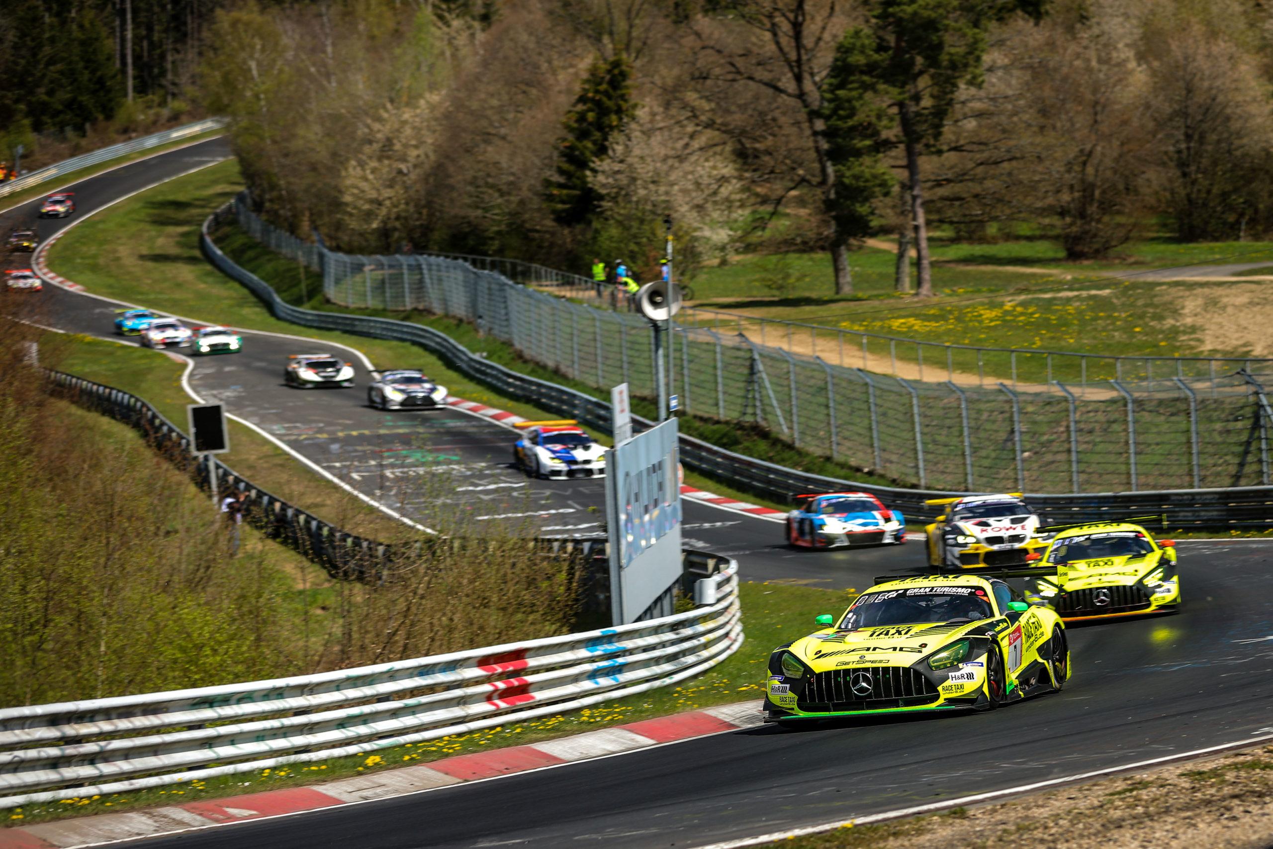 GetSpeed: Bestes Mercedes-AMG-Team beim 24h-Qualifikationsrennen