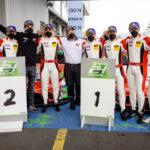 Porsche führt die Herstellerwertung an
