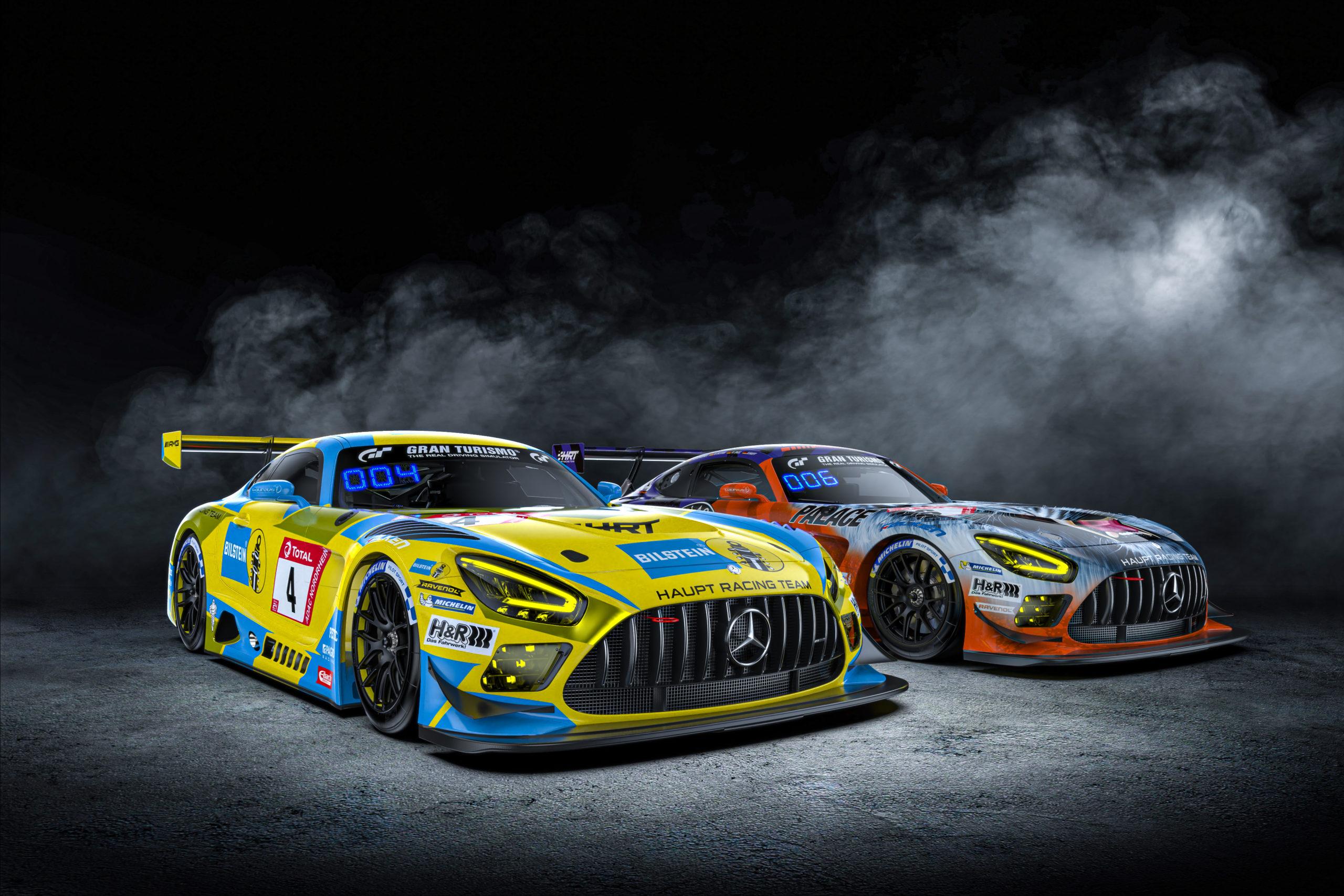 Haupt Racing Team: Mit zwei Mercedes AMG GT3 zur Nordschleife
