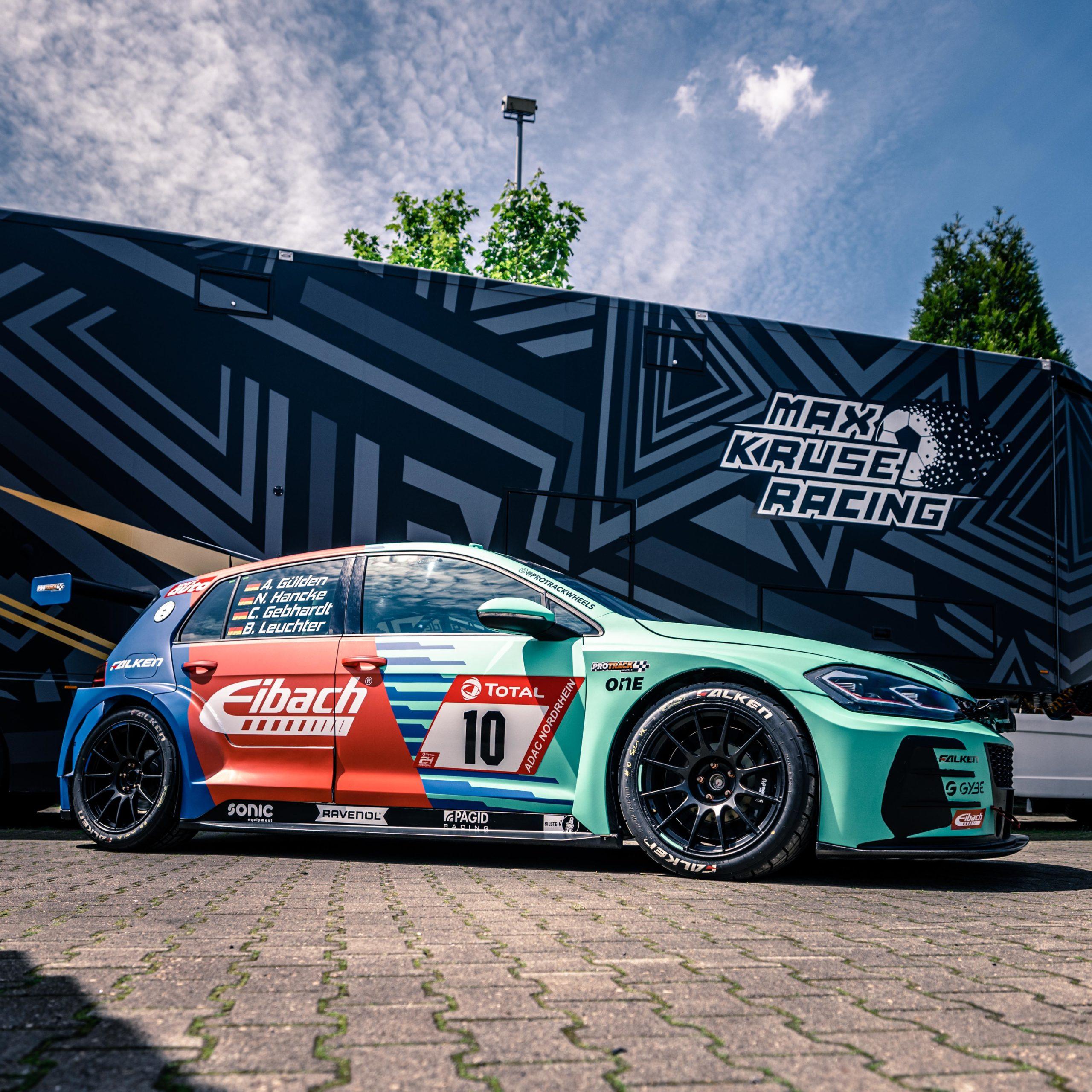 Max Kruse Racing: Optimistisch zum 24h-Rennen