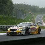 BMW: Podium zum Abschied des M6 GT3