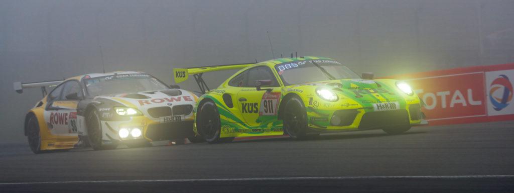 """24h 2021 Rennen Foto2 Porschesieg scaled e1622985518541 1024x386 - MANTHEY-PORSCHE #911 GEWINNT DEN """"EIFEL-SPRINT"""""""