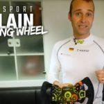 Audi 24h racing insights: Das Lenkrad des Audi R8 LMS