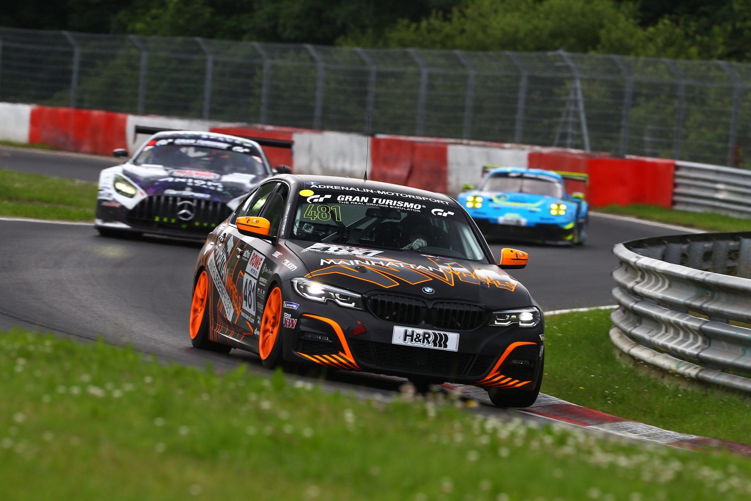 Adrenalin Motorsport: Alles nach Plan