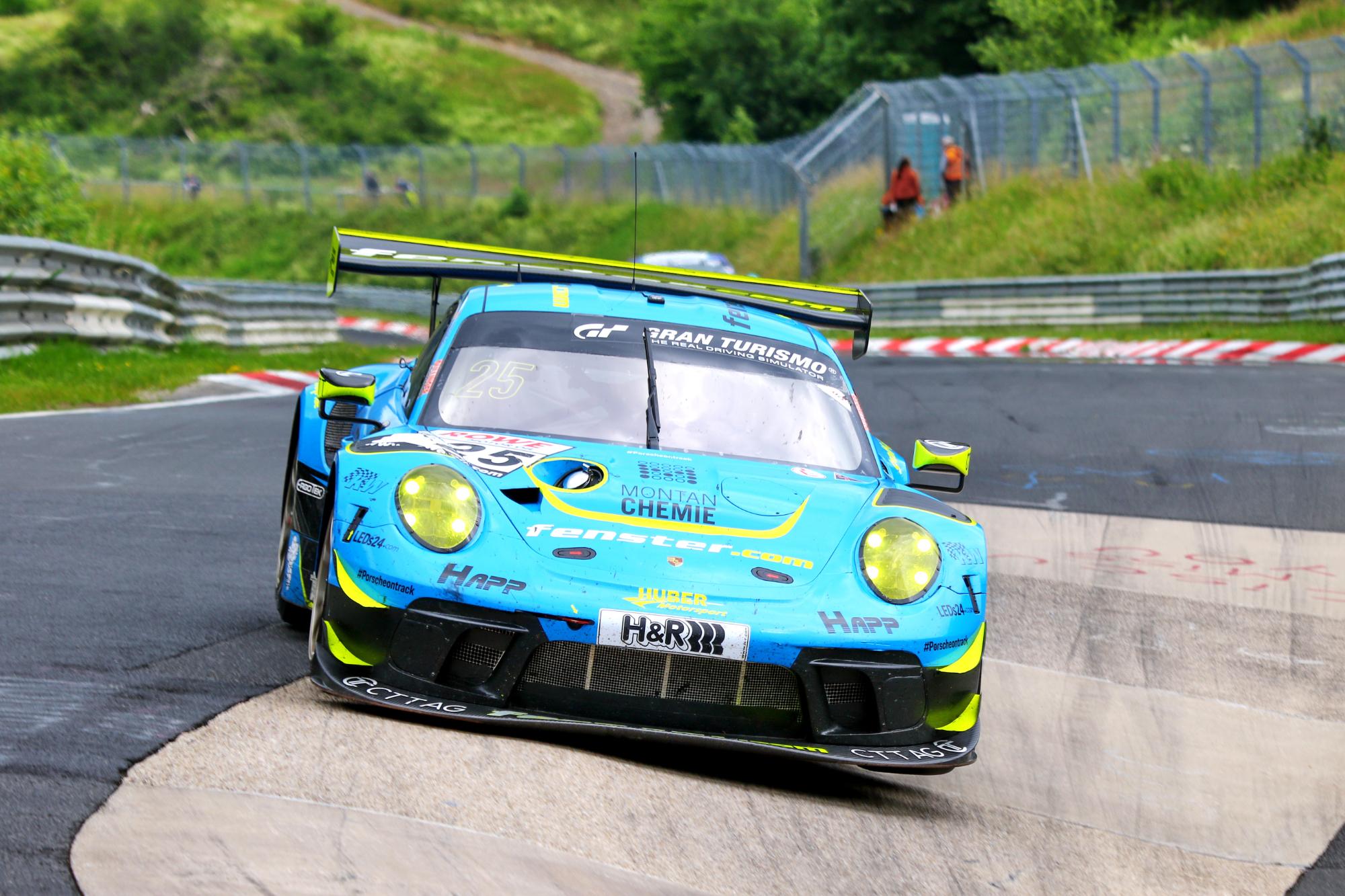 Huber Motorsport: Klassensieg am Sonntag