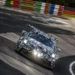 Gelungener Testeinsatz für den neuen Porsche 911 GT3 Cup